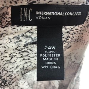 INC International Concepts Tops - INC international concepts  faux wrap front
